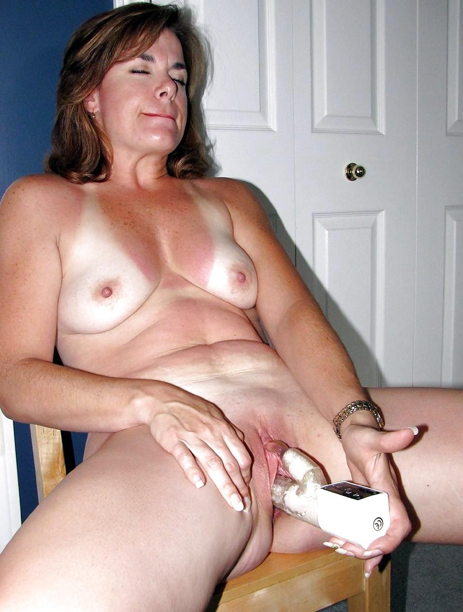 Зрелые тети мастурбируют частное