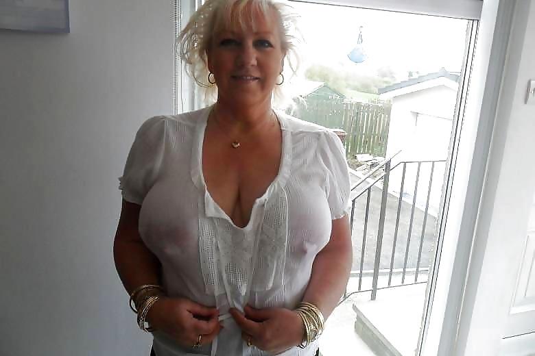 mature nipples poking through